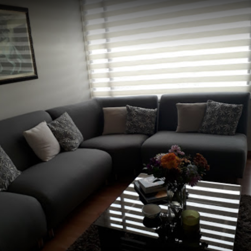 cortnas modernas para sala en bogota
